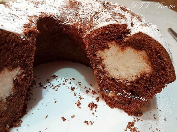 Ciambella al cacao e cocco 2
