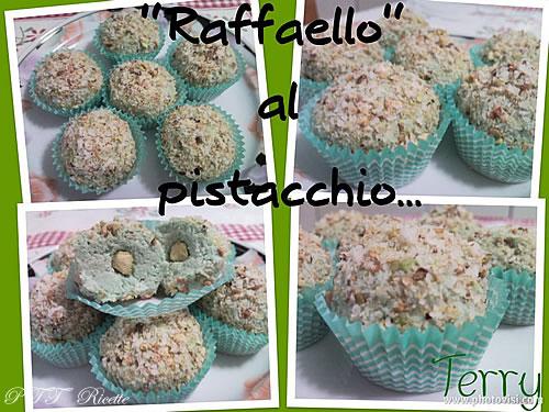 Cioccolatini tipo Raffaello al pistacchio 1