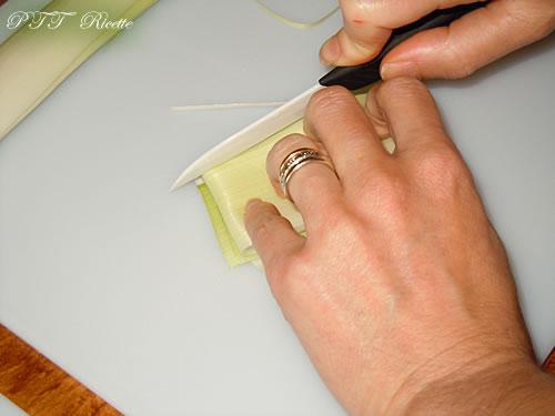 Come pulire e tagliare il porro 14