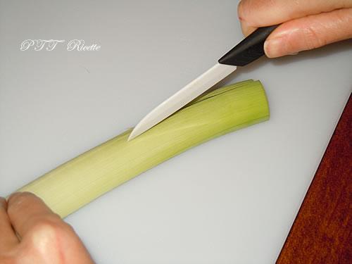 Come pulire e tagliare il porro 18