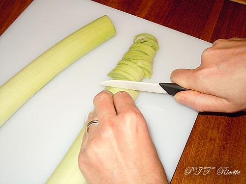 Come pulire e tagliare il porro 8