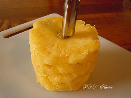Come pulire e tagliare l'Ananas 3