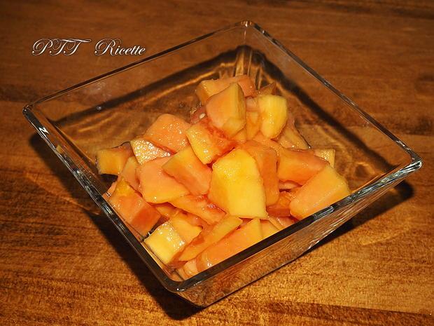 Come tagliare la papaya