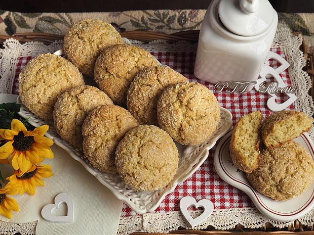 Cookies al cocco senza burro 7
