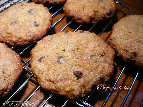 Cookies all'avena e cioccolato 1