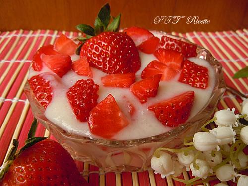 Coppetta crema di riso e fragole 1