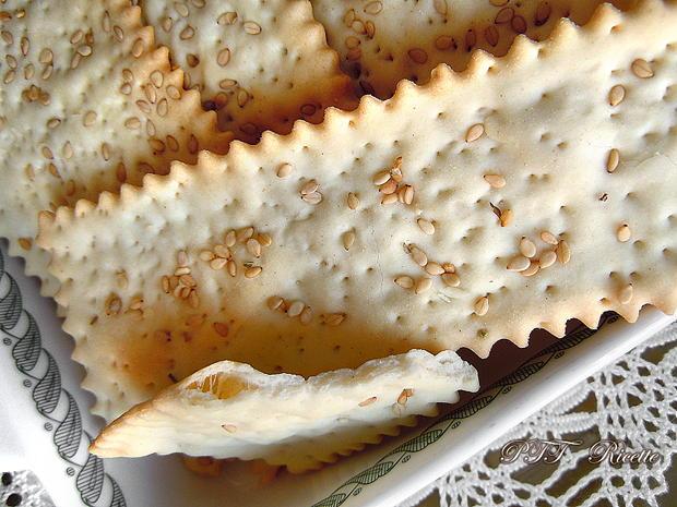 Crackers al sesamo 2
