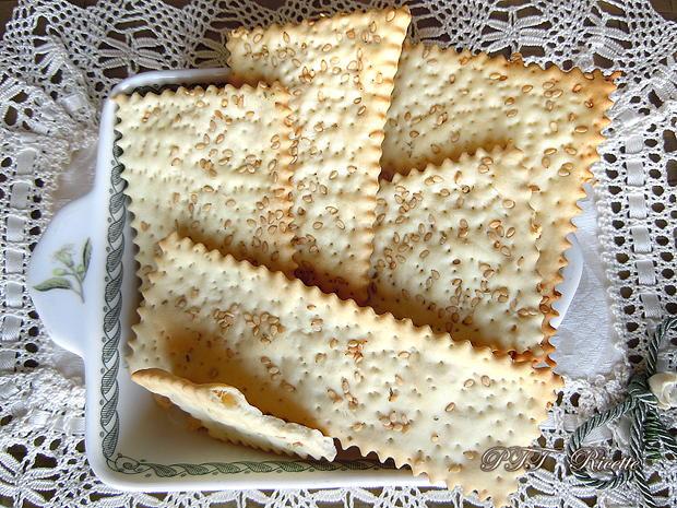 Crackers al sesamo 3