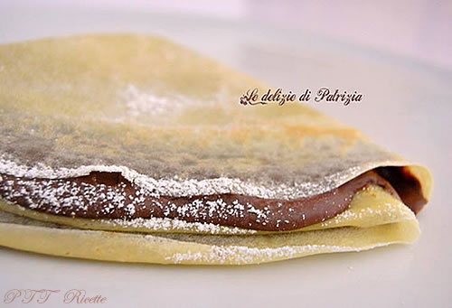 Crepes con Nutella golose