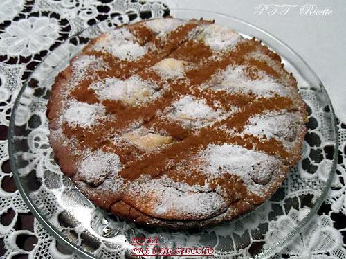 Crostata al cacao con ricotta 1