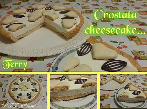 Crostata cheesecake 1