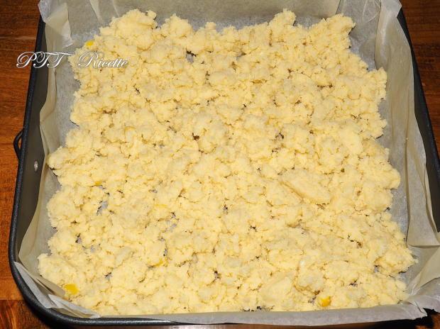 Crostata sbriciolata al cocco con ciliegie 9