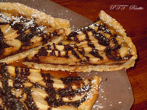 Crostata vegana mele e cioccolato 2