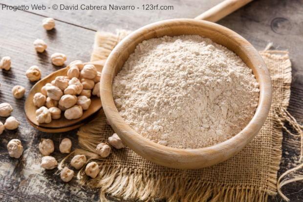 Denaturare le farine di legumi