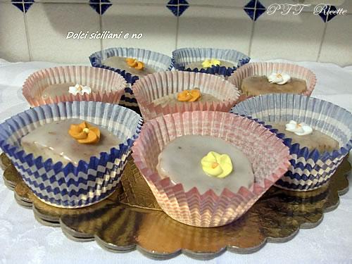 Dolcini con glassa all'arancia e al limone 1