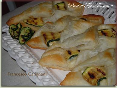 Fagottini con zucchine