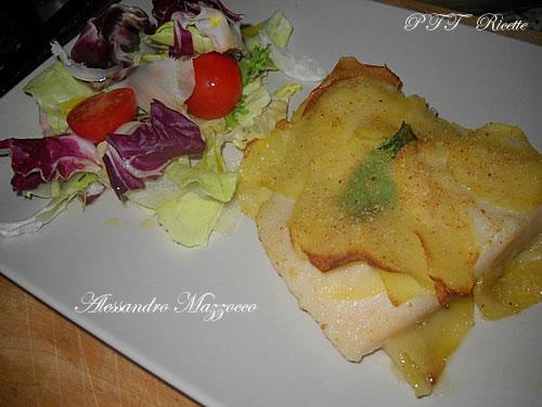 filetto di gallinella in crosta di patate | ricetta - Come Cucinare Filetti Di Gallinella