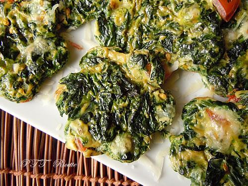 Frittata di spinaci 2
