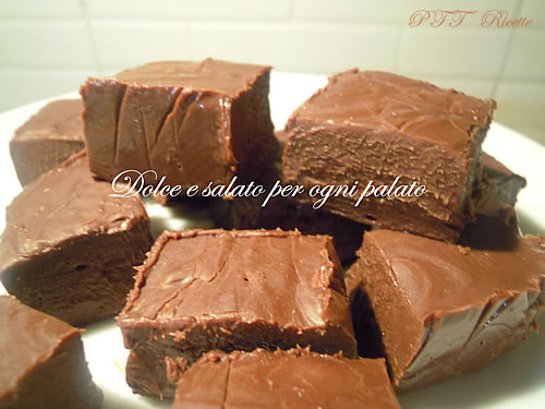 Fudge, cioccolatini americani