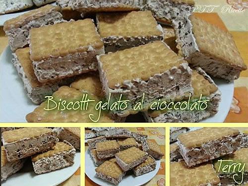 Gelato biscotto al cioccolato 1