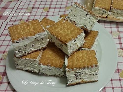 Gelato biscotto alla stracciatella 3