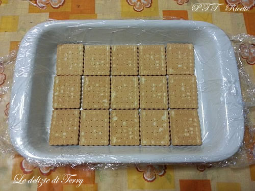 Gelato biscotto preparazione