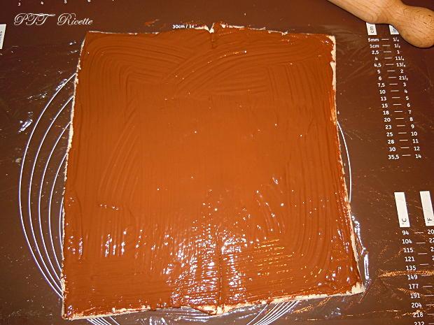 Girelle di pancarré con cioccolato 9