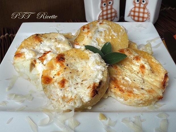 Gnocchi alla romana senza glutine con crema di parmigiano 18