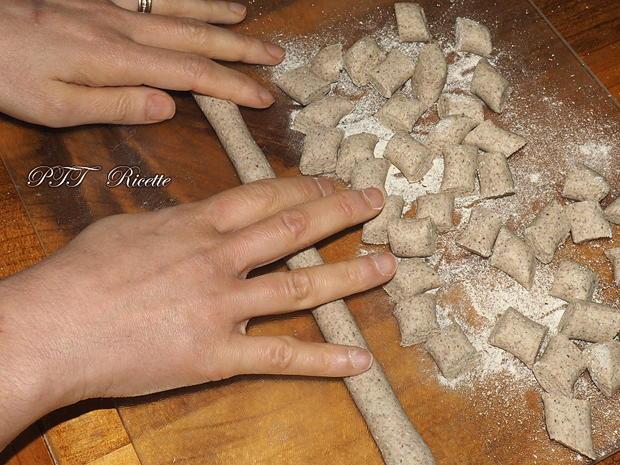 Gnocchi di grano saraceno con albumi 2