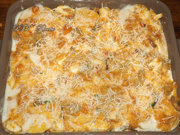 Gnocchi di polenta al forno con zucca e funghi 21