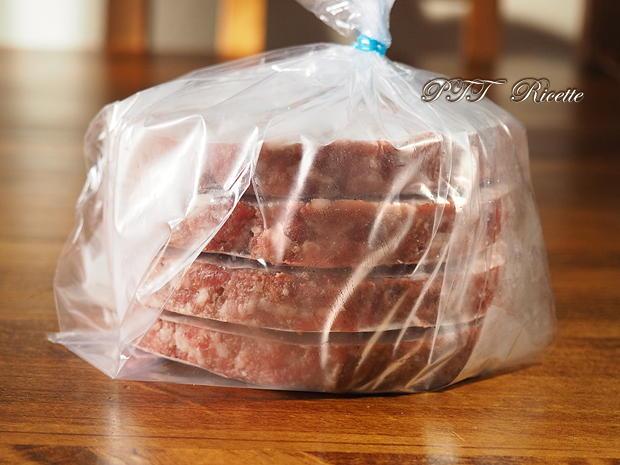 Hamburger alla salsiccia fatti in casa