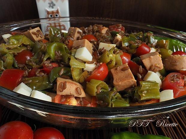 Insalata con Jambonet e peperoni verdi dolci 5