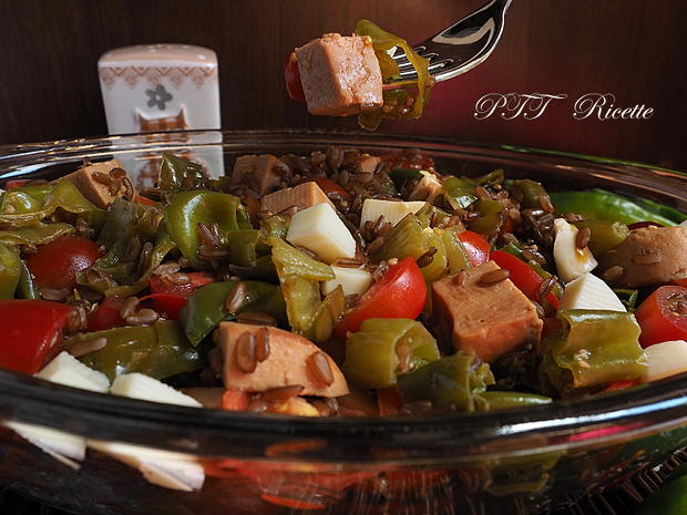 Insalata con Jambonet e peperoni verdi dolci 6