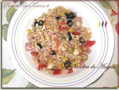 Insalata di grano - Ricette di insalate fredde