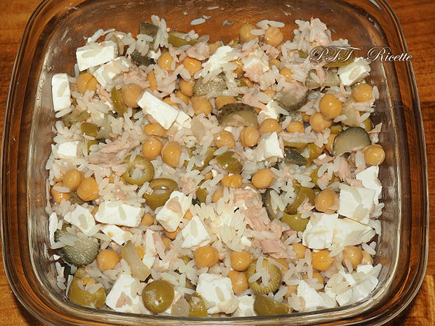 Insalata fredda di riso semplice 3
