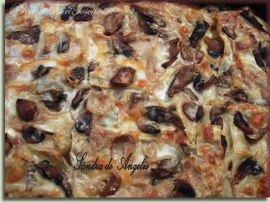 Lasagne ai funghi 2