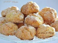 Biscotti alla ricotta con profumo d'arancia
