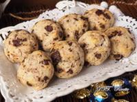 Biscotti morbidi di ricotta e cioccolato senza zucchero
