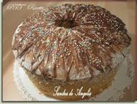 Chiffon cake al caffè glassata