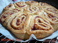 Crostata di rose