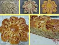 Fiore di pan brioche salato farcito