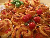 Rose di pizza muffin-ate