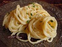 Spaghetti cremosi al limone senza panna