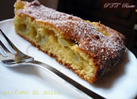 Torta morbida all'uva