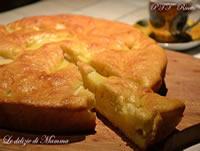 Torta plumcake alla crema