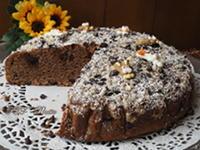 Torta soffice al cioccolato senza uova e senza burro