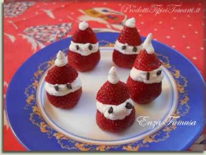 Babbo Natale di fragole