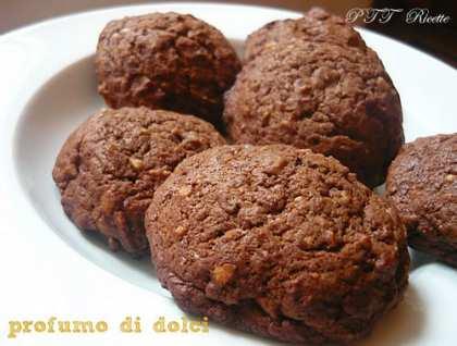 Biscotti alla banana e cioccolato