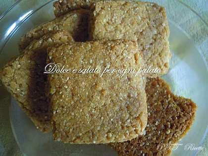 Biscotti alla farina di ceci