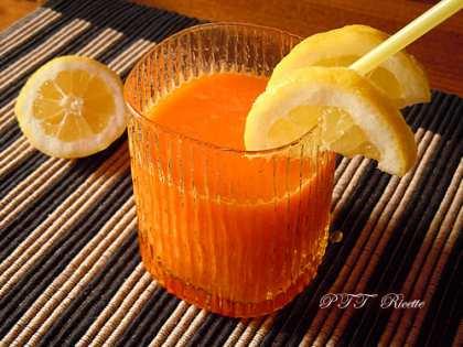 Centrifugato ACE (arancia, carota, limone)